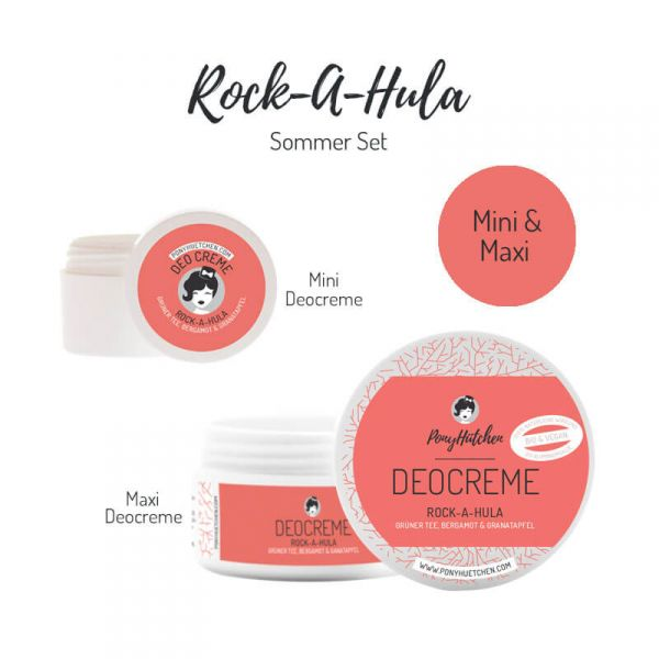 Kleines Set Rock-A-Hula (Deocreme Maxi & Mini)