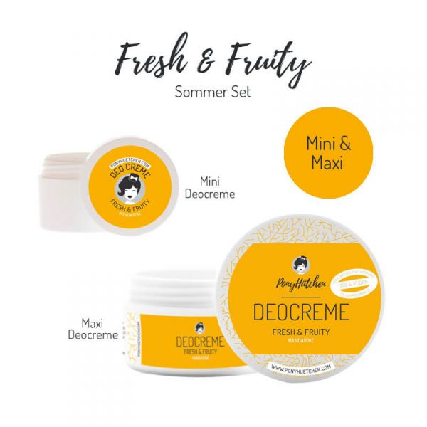 Kleines Set Fresh & Fruity (Deocreme Maxi & Mini)