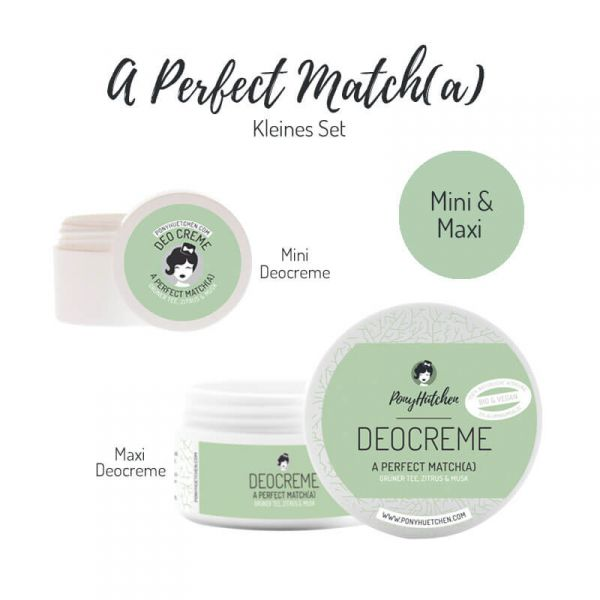 Kleines Set A Perfect Match(a) (Deocreme Maxi & Mini)